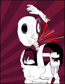 How Robots Bleed by ScottDon