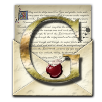 Gmail Steampunk Open Envelope Email Icon by yereverluvinuncleber