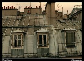 Parisian Rooftops by misteriddles