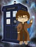 The 10th Doctor by CosmicLabCreations