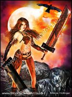 Slashing With Wolves by AliciaHollinger