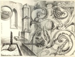 The 1st Exquisite Corpse 2005 by Bernardumaine