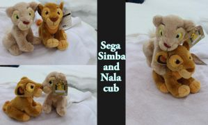 Simba and Nala by SEGA by Laurel-Lion
