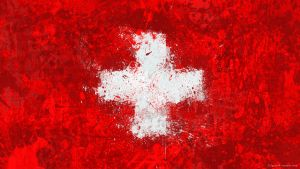 Swiss Flag Wallpaper by GaryckArntzen