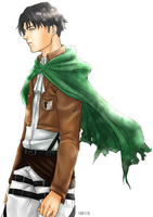 SNK: Rivaille by Yuki119