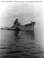Unfinished USS Hawaii CB-3 under to to scrapper by StephenBarlow