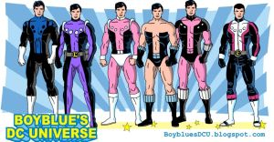 Evolution of Cosmic Boy (Rokk Krinn) by BoybluesDCU