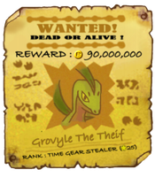 Grovyle_Outlaw_Wanted_PosterMD by Foxie-The-Vulpix