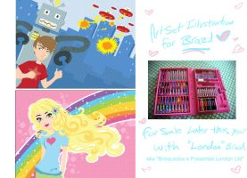 Brazil Art Kit Freelance by Blush-Art