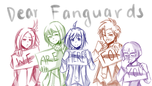 .: CFV : Message to all Fanguards :. by L-Y-R-I-E