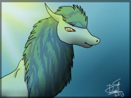 Kayl the dragon by Dead-2012