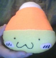 Cute Candy Corn Plush by Romaji