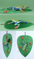 Arbo the Red-eyed Tree Frog by LisaAP