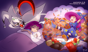 PokeHalloween: Day 28 - Dreams by QuantumJinx