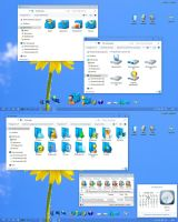 Blue memory2 W10 IconPack by alexgal23