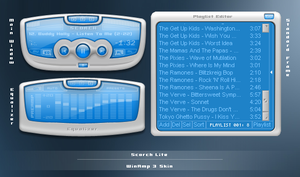 Scorch Lite WinAmp 3 Skin by shalayer