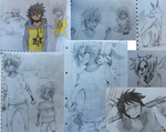 drawings at school2 by ToNDWOo