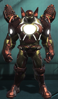 Iron Man Hulk Buster Armor (DC Universe Online) by Macgyver75