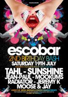 Escobar 2nd Birthday by jeanpaul