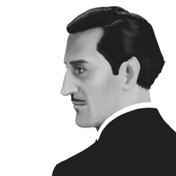 Basil Rathbone by GreenishQ8