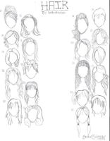 Hair Examples by BooBooKachoo