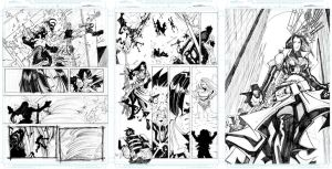 Bullet Witch Pages 14 - 15 -16 by Sandoval-Art