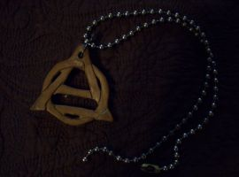 Theta-Delta Necklace by earth-listener