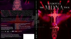 The MDNA Tour blu-ray cover by Ludingirra