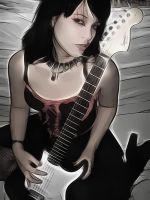 guitar by uktilly