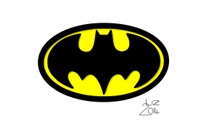 Batman Symbol by fieldsofdaisies