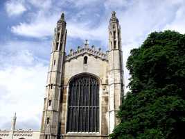 King's College Chapel by Leaf-Assassin