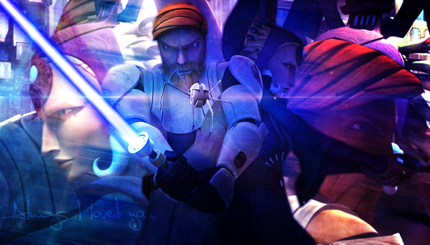 Obi-Wan and Satine - Obitine by Starwarsowa