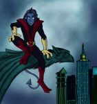 X men Evo Nightcrawler by insectikette