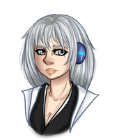Kana - Bust commission by Mama-Moose