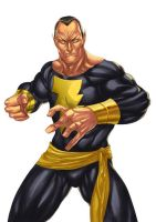 Black Adam by adagadegelo