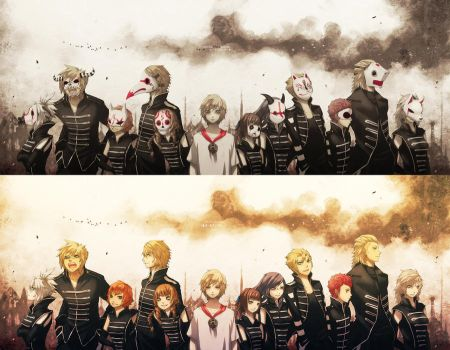 Welcome to the black parade - FF type-0 by ReiTuki