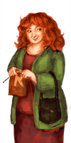 Collab: Molly Weasley by schnestel