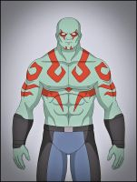 Drax the Destroyer by DraganD