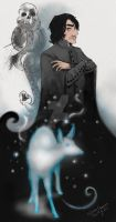 Severus Snape by GorgeOnThis