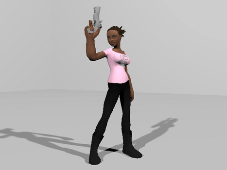 Torchlight MOD WIP - Rochelle Left 4 Dead by UlissesJuca