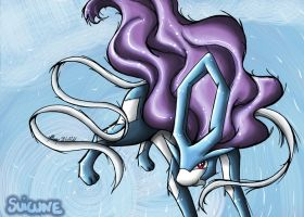 .:Suicune:. by Ariall