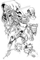 Thundercats Drink'n'Draw Inks by SpiderGuile