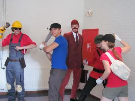 Team Fortress Cosplay by Killerspre