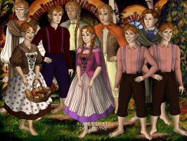 Weasley Hobbits by Sunshine-Girl524