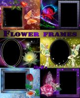 Frames for photos of the Magical flowers by DiZa-74