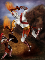 Kratos Fanart Proyect Finished by Cemhta