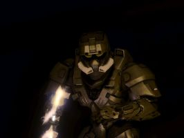 The skull looking EOD by Zombie-Spartan