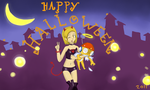 Good vs Evil? Halloween by rand0mfan