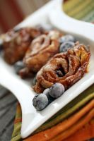 Blueberry Brown Sugar Rolls by laurenjacob