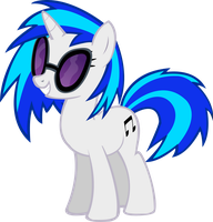 Vinyl Scratch by Spaceponies